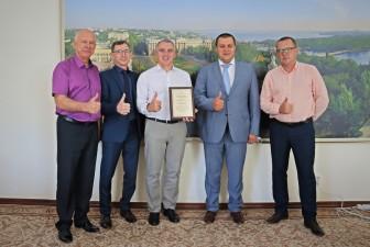 Робоча зустріч голови правління Держмолодьжитла та Миколаївського міського голови